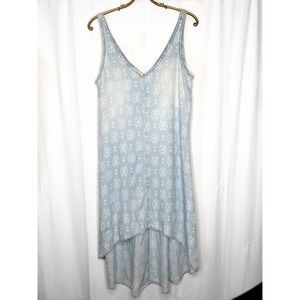 Anthropologie Cloth and Stone chambray dress